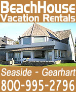 Over 65 between Seaside and Warrenton; some pet friendly. All non-smoking; some offer specials. Many beachfront, or within a couple blocks of beach, in lovely, quiet neighborhoods. In Seaside as well as Gearhart, including modern condo overlooking Gearhart's pristine beaches, or lakefront lovelies near Warrenton. May find ping-pong table, fireplaces, big yard, patios, barbecues, balconies and decks with stunning views, hot tubs, swimming pool access. Kitchens fully equipped.