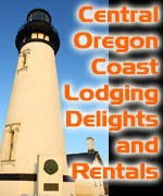 20 gorgeous homes sleep up to 18; doubled that with some side-by-side homes. Some pet friendly. Cottages to massive homes; new oceanfront to renovated historic beach houses. All over central coast w/ Lincoln City, Otter Rock, Boiler Bay and Nye Beach. Long list of features, including barbecues, large decks, antique furnishings, wood stoves, gas fireplaces, hardwood floors, Jacuzzis and hot tubs. Most have movies, music, books. Gift basket w/ goodies in each