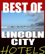 Lincoln City's only resort hotel built right on the beach with all oceanfront rooms - nestled against a rugged cliffside overlooking a soft, sandy beach. Dine in penthouse restaurant and bar, for casual meal or candlelight dinner. An array of seafood specialties, juicy steaks and other Northwest favorites, including decadent Sunday buffet. Rooms range from bedrooms to studios to 1-bedroom suites with microwaves and refrigerators to full kitchens. Also, wi-fi, spa, saunas, exercise room and year-round heated swimming pool. Kids will love the game room and easy beach access. Full-service conference/meeting rooms for that inspirational retreat; extensive wedding possibilities.