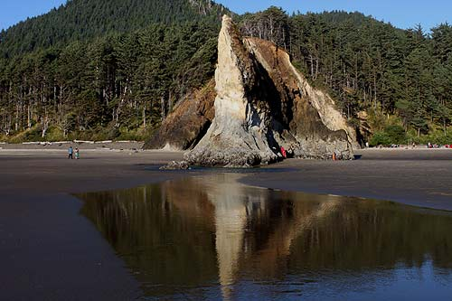 Arcadia Beach Is Between Arch Cape And Cannon At The Bottom Night An Entirely New Beautifully Surreal Look