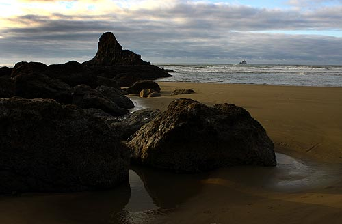 Arresting Views of Indian Beach, Ecola, at Cannon Beach
