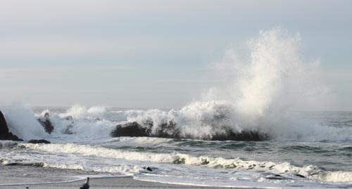 High Wind Warning for Oregon Coast; Monster Waves Thursday