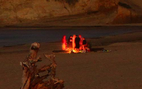 Ban on Fires at Campgrounds, Even Oregon Coast Beaches