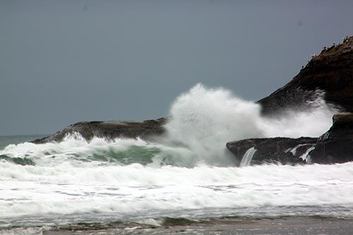 Spectacular Stormy Seas This Weekend on Oregon Coast; Surf Advisory