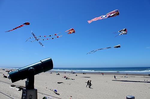 D River kites, Lincoln City