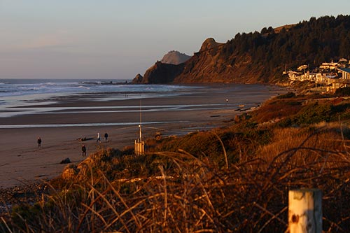 Road S End Beaches Structures Landmarks Lincoln City Oregon Coast Virtual Tour Inland 101 Neskowin Corridor Of Mystery