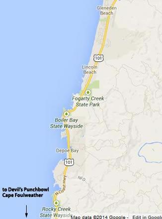 Depoe Bay Oregon Map Depoe Bay Virtual Tour on Oregon Coast   A Guide to Depoe Bay