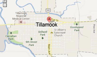 map of tillamook oregon Tillamook Bay Virtual Tour Maps Tillamook Bayocean Garibaldi map of tillamook oregon