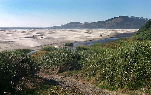To The South About A Mile Is Nye Beach North It S Yet Another Southern Side Of Yaquina Head And