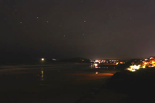Big Dipper in Newport, Oregon Coast