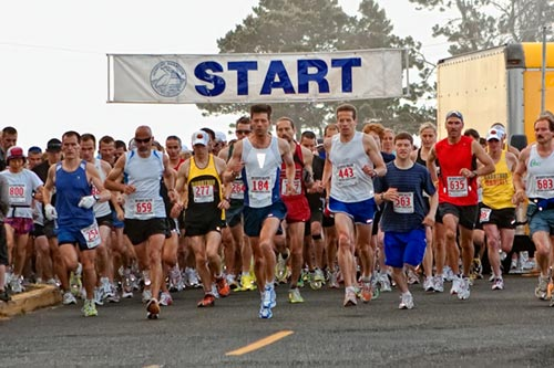 the 17th annual Newport Marathon and Half Marathon