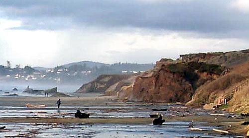 Cliff Walls Of Nye Beach Virtual Tour Newport Oregon Coast