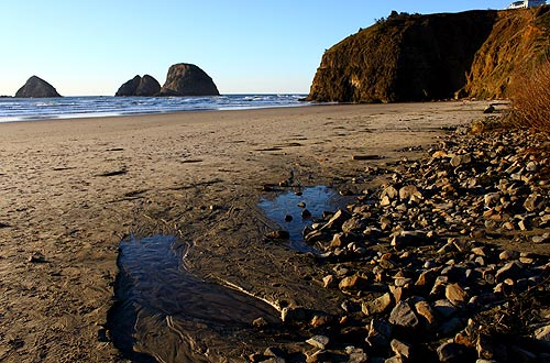 Three Capes Tour, Oceanside, Pacific City, Cape Meares