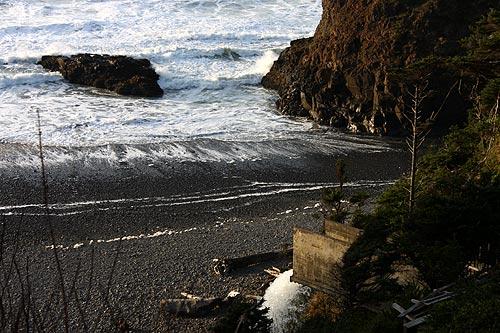 Short Beach On N Oregon Coast Has