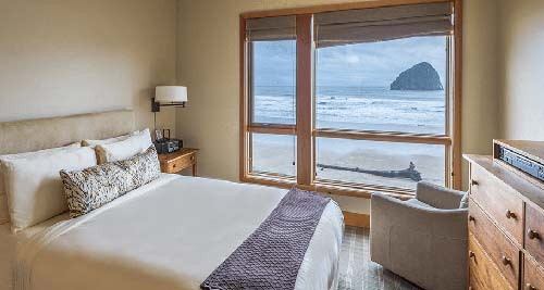 Headlands Coastal Lodge And Spa Cottages At Cape Kiwanda 33 High End Guest Rooms Are Augmented With 18 Luxury All Oceanfront