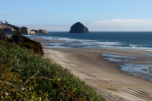 Photo: Pacific City as seen from Tierra Del Mar, to the north