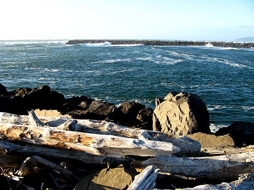 Rockaway Beach Northern End Manhattan S Jetty Manzanita Wheeler Nehalem Bay Virtual Tour Oregon Coast