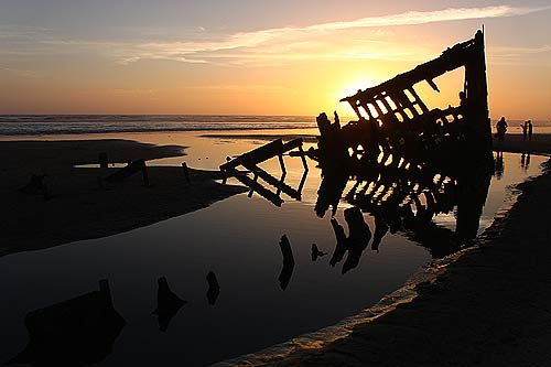 Uncovering Wreck of the Peter Iredale