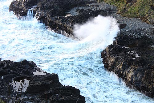 Video: Stunning Sights Just S. of Yachats, Central Oregon Coast