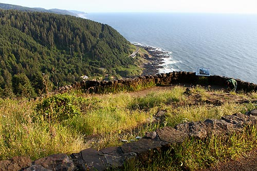 Hiking Event at Central Oregon Coast's Cape Perpetua; Forest Road Closure