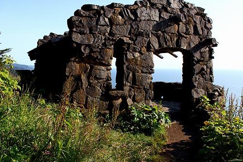 An Oregon Coast Treasure: the Stone Shelter at Cape Perpetua - Oregon Coast, Upper Lane County Virtual Tour